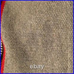 RARE Vintage Navajo American Indian Wool Duster Chimayo Long Jacket Marc Navarro
