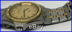 RARE Vintage OMEGA Seamaster Two Tone Quartz 1342 Men's 40mm Case