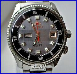 RARE Vintage Orient Sea King KD King Diver Automatic Japan watches mens watch