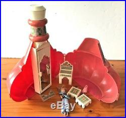 RARE Vintage Remco I Dream of Jeannie Bottle Playset BOTTLE 6.5 Doll Outfit