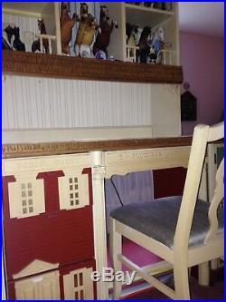 RARE Vintage Singer Dollhouse 8 piece Bedroom Furniture