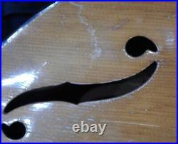 RARE original vintage Harmony CREMONA archtop acoustic guitar 1950's instrument