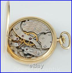 Rare 18k Gold Patek Philippe & Cie Genève Art Deco Dress Watch circa 1938