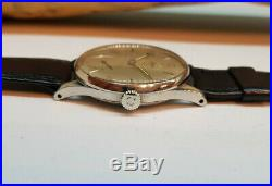 Rare 1939 Omega Seamaster Sub Second Cal30t2 Silver Dial Man's Watch