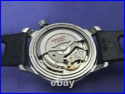 Rare 1960's Seiko World Time 6217-7000 Gmt Automatic Date First Model #7128