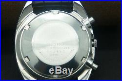 Rare 1970s Vintage Seiko Chronograph 6139-6012 Automatic Day/Date Gents Watch