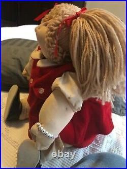 Rare 1980 Vintage Little People Cabbage Patch hand signed by Xavier Roberts