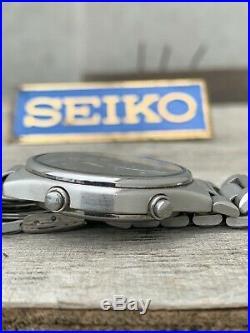 Rare 1988 Vintage JDM Seiko SBBR003 7T42-6A10 Speedmaster Quartz Chronograph