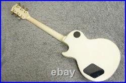 Rare 1989made Greco EGC-75 Mint Collection LP Custom vintage white Made in Japan