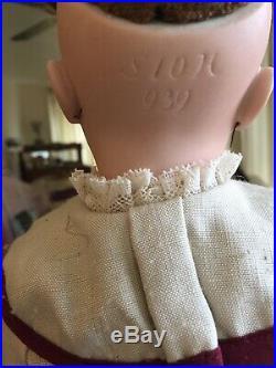 Rare Antique 939 German Bisque Head Simon & Halbig Doll 17 circa 1889