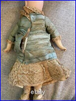 Rare Antique Cabinet Size 14 Sonneberg Wilhelm Dehler Doll For French Market