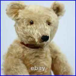 Rare Antique Pre-War Steiff Teddy Bear 1920-30s w Button Long F & Voice Top