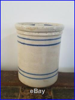 Rare Antique Red Wing Pantry Jar WithLid 1lb Small Size Vintage Stoneware Cute