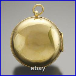 Rare Antique Single Hand French Oignon Verge Fusee Keywind Pocket Watch Ca1680s