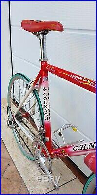 Rare COLNAGO DREAM ART DECOR 26 vintage alloy italian road bike CAMPAGNOLO MINT