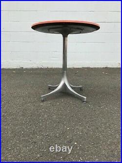 Rare! Collectors Item Vintage Herman Miller George Nelson Pedestal Side Table