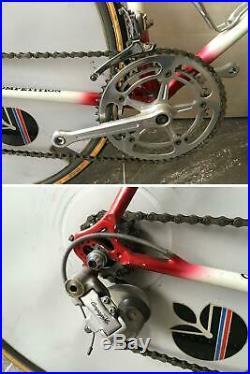Rare De Rosa Crono TT time trail triathlon steel road bike Campagnolo vintage