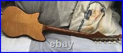 Rare Hohner Zambesi burns vintage electric guitar made in England 60s