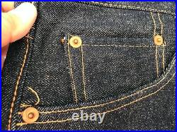 Rare Levis Big E 1960 550zxx 36 Denim Shorts Selvedge Red Line With Tags Unused