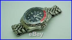 Rare Pulsar Diver 200m Quartz Watch Vintage Original Japan Divers