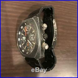 Rare SINN Space Chronograph black dial Ref. 142. BS Cal. 5100 Lemania Men's Watch