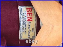 Rare! Superb Rodeo Ben Vintage Womens Western/Cowgirl 4 Piece Suit
