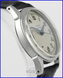 Rare TUDOR Oyster Devon 4540 Stainless Steel 1950's Vintage Mens Wrist Watch