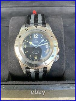 Rare Tudor Oyster Prince Submariner Ref 7206 Navy Prototype Men Military Watch