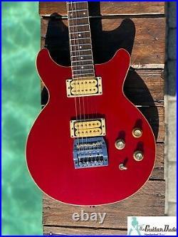 Rare VINTAGE 1985 Gibson Les Paul Spirit II XPL Candy Apple Red Metallic -OHSC
