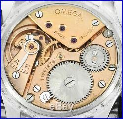 Rare Vintage 1947 OMEGA 2488-1 Military Dial Caliber 30 T2 PC Mens Wrist Watch