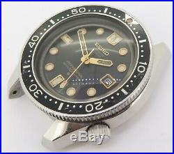 Rare Vintage 1969 Seiko 300m High Beat 36000 Steel Mens Diver Watch 6159 7001
