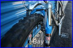 Rare! Vintage 1997 Merlin double butted XLM Titanium mountain bicycle