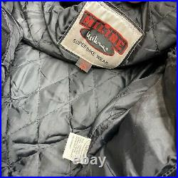 Rare Vintage 90s Lucky Strike Leather Motorcycle Jacket Size 58 Miline Racing