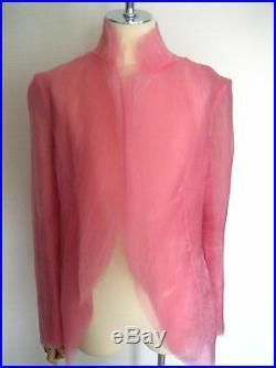 Rare Vintage AD2000 Runway Collection Comme Des Garcons Organdie Jacket