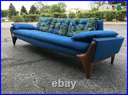 Rare Vintage Adrian Pearsall Craft Associates Sofa Authentic Original Tag Clean