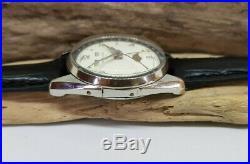 Rare Vintage Favre Leuba Triple Calendar White Dial Moonhpase Watch