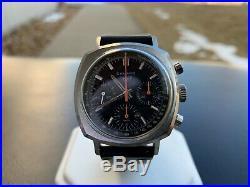 Rare Vintage Heuer Camaro 73643 NT Chronograph Exotic Dial Watch ONTHEDASH