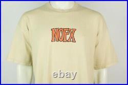 Rare Vintage NOFX Hardcore Punk Band T-Shirt XL