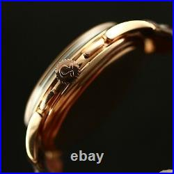 Rare Vintage Omega Jumbo Size 38mm Chronograph 2468, 18k Solid Rose Gold Watch