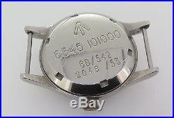 Rare Vintage Omega Military 1953 RAF- 6B 542 2777-1 SC Wrist Watch