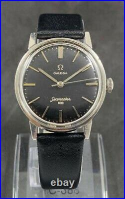 Rare Vintage Omega Seamaster 600 Manual Wind Watch Cal. 601, Jew. 17