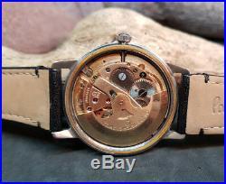 Rare Vintage Omega Seamaster Black Dial Auto 552 Man's Watch Seahorse Logo