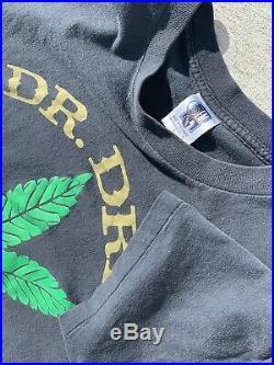 Rare Vintage Original 1993 Dr Dre The Chronic Rap Hip Hop Shirt