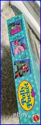 Rare Vintage Polly Pocket Bluebird Birthday Surprise Compact 1994