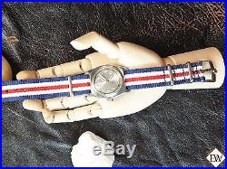 Rare Vintage ROLEX OYSTER SpeedKing Watch Silver Dial Marconi CIRCA 41 WWII