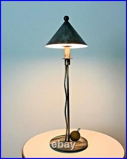 Rare Vintage Robert Sonneman Kovacs Post Modern Table Desk Lamp Memphis 1980's