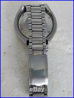 Rare Vintage Seiko Bullhead 6138 0040 Chronograph Speed Timer It Works Well