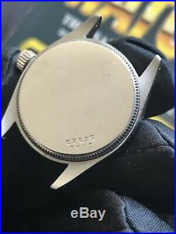 Rare Vintage TUDOR Honeycomb Dial Ref#7802 Cal 1182 17J 29.5mm Midisize Unisex
