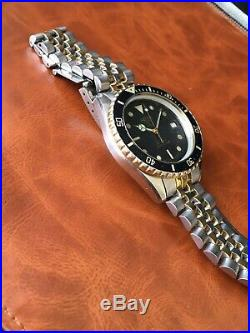 Rare Vintage (pre Tag) Heuer 1000 Professional Diver's Watch Wolf Of Wall St