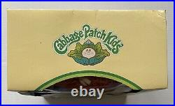 Rare Vntg 1983 Tri-logo Coleco Ideal Jesmar Cabbage Patch Doll Red Hair Htf Iob